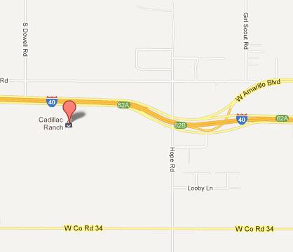 Cost 2 Drive Cadillac Graveyard Amarillo TX