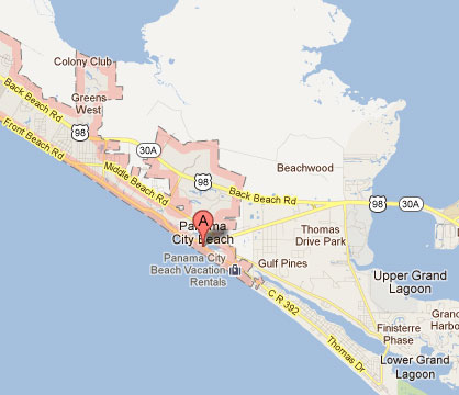 Mexico Beach Florida Map.Cost 2 Drive Panama City Beach Fl