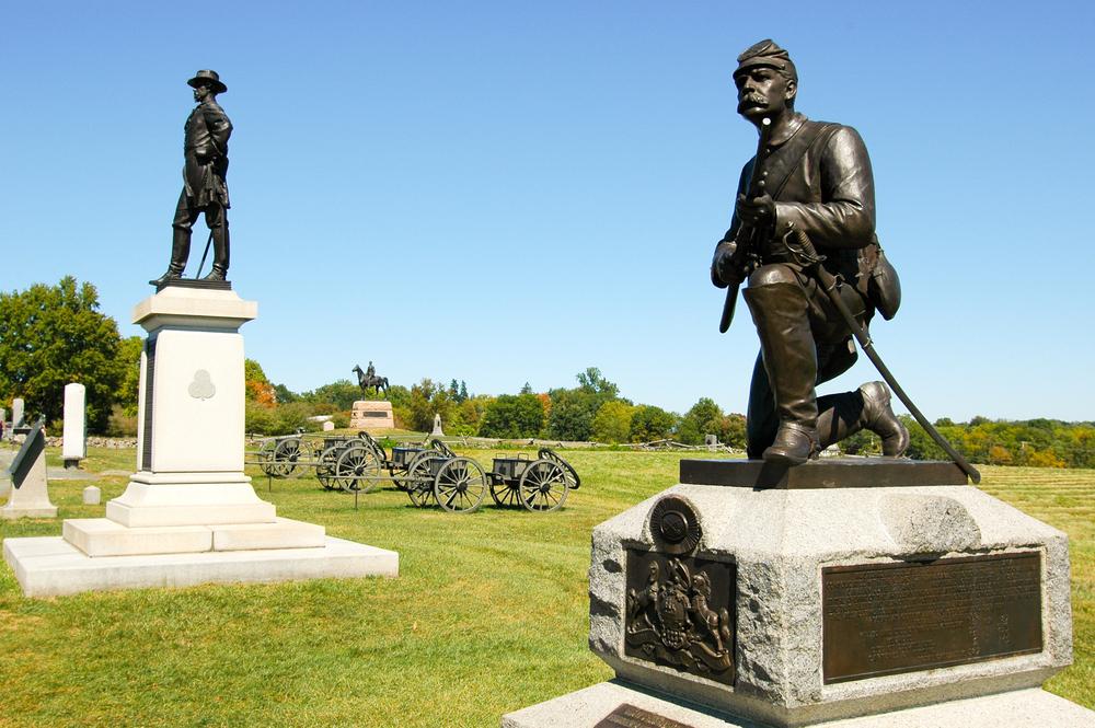 Gettysburg Battlefield, Pennsylvania