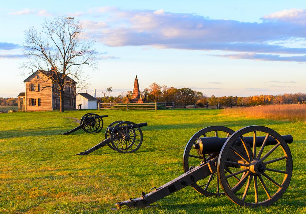 Manassas Battlefield, Virginia