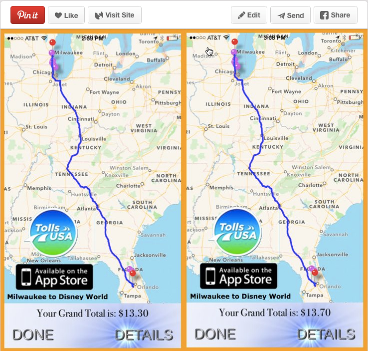 Cost 2 Drive | New Toll Calculator Pins Help Travelers