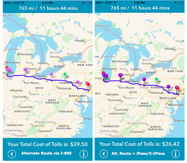 Cost 2 Drive | The Most Expensive Toll Routes in America